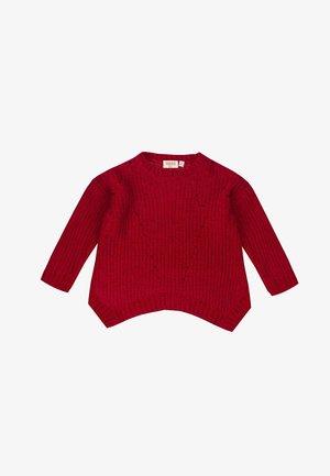 SWEATER - Cardigan - rojo