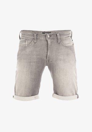 BRAD - Denim shorts - medium grey