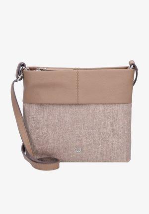 Across body bag - taupe