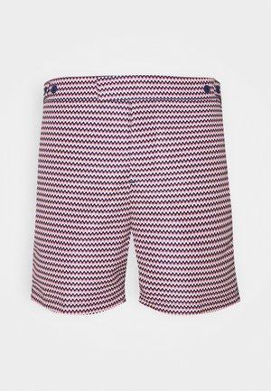 TRUNKS TAILORED COPACABANA - Shorts da mare - navy/terracotta