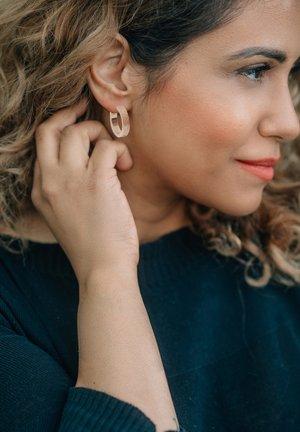 CREOLE CIRCUM  - Earrings - rosegold
