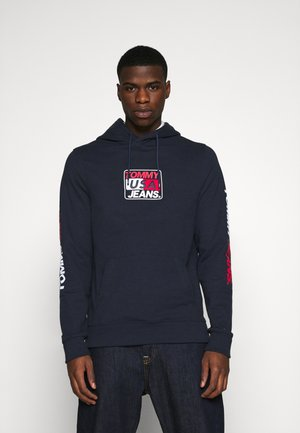 ESSENTIAL GRAPHIC HOODIE - Luvtröja - twilight navy