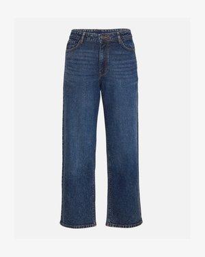 EIKE RIKKA ANKLE  - Straight leg jeans - black wash