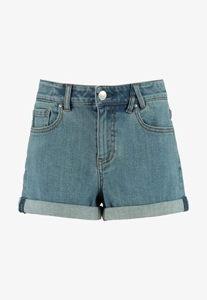 LUCY JR - Denim shorts - light blue