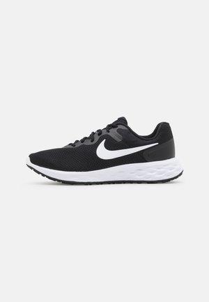 REVOLUTION 6 - Neutral running shoes - black/white/iron grey