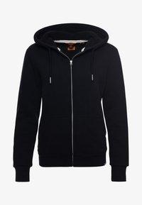 Superdry - BORG LINED - Zip-up sweatshirt - black - 4