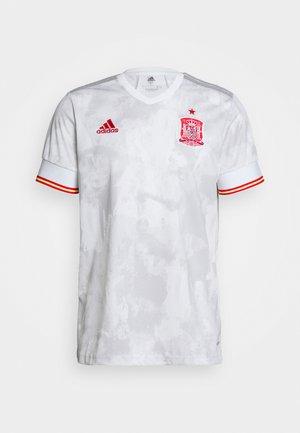 FEF SPANIEN A JSY - National team wear - white/ltonix