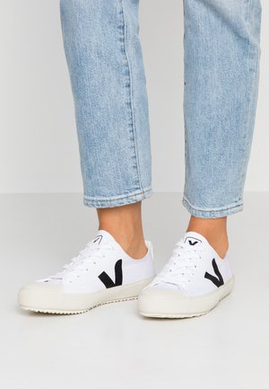 NOVA - Sneakers laag - white/black