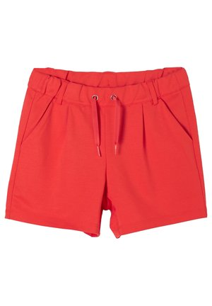 LOSSE SHORT VAN INTERLOCK-JERSEY - Shorts - red