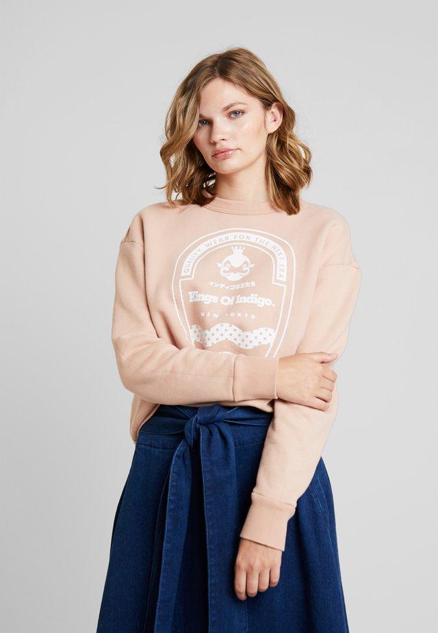 IDALIKA - Sweater - nude
