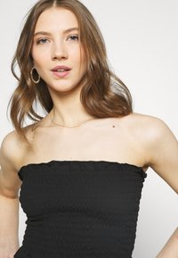 Missguided - SHEARED BANDEAU 2 PACK  - Top - black/mustard - 4