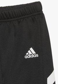 adidas Performance - MINI ME TRACKSUIT TRACKSUIT BABY SET - Tracksuit - black/khaki - 4