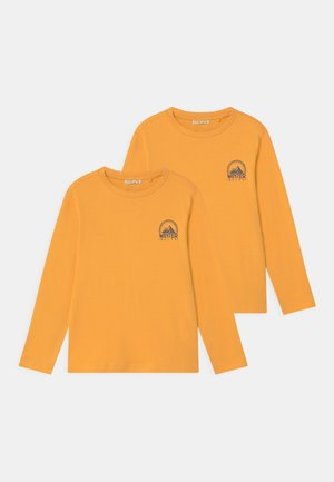 2 PACK - Long sleeved top - beeswax