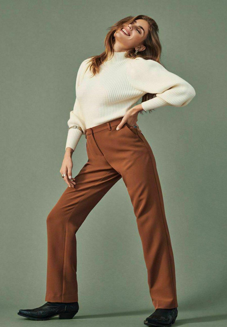 Donna LOOSE FIT - Pantaloni