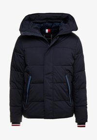 Tommy Hilfiger - STRETCH HOODED - Zimní bunda - blue