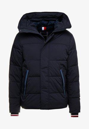 STRETCH HOODED - Vinterjakker - blue