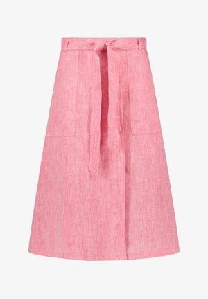 A-line skirt - rasberry melange