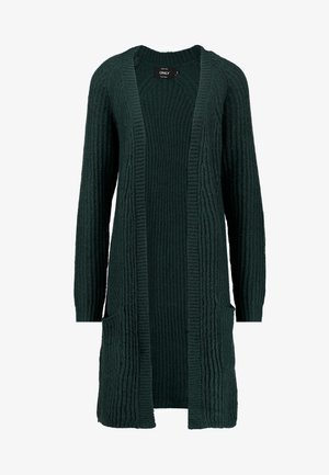 ONLBERNICE - Cardigan - green gables/black melange