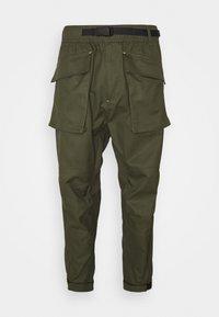 Converse - PANELED JOGGER - Cargo trousers - khaki - 6
