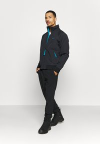 Columbia - FALMOUTH JACKET - Outdoor jacket - black/fjord blue - 1