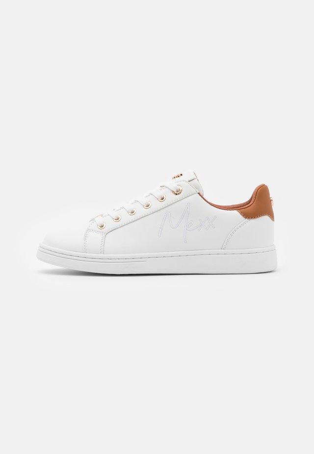 GLIB - Sneakers basse - white/cappuccino