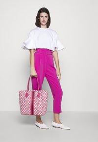 Escada Sport - CANVAS SHOPPER - Shopping bag - red - 1
