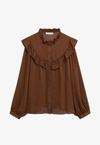 Mango - OSLO - Button-down blouse - russet - 6