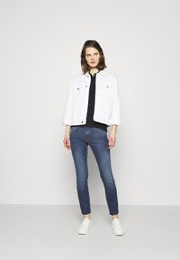 Marc O'Polo DENIM - ALVA - Slim fit jeans - true indigo mid blue - 1