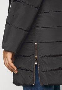 CAPSULE by Simply Be - LUXE LONGLINE PADDED COAT - Winter coat - black - 5