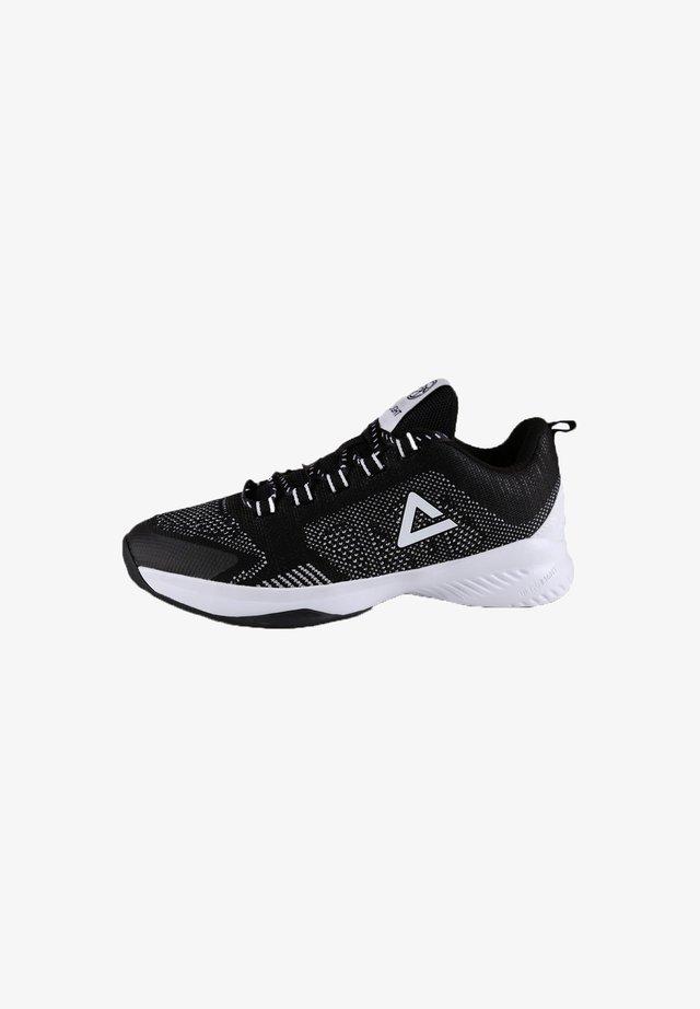 Basketball shoes - schwarz - weiß