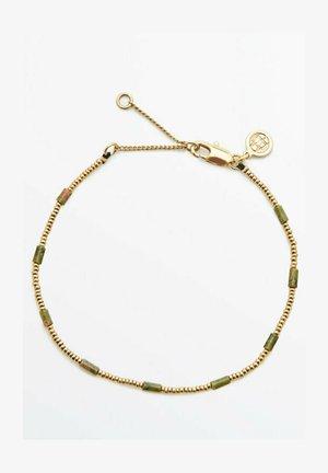 MIT STEINEN - Bracelet - green