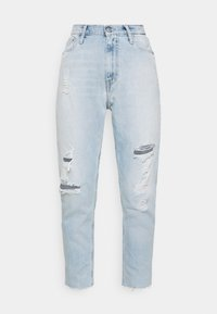 Calvin Klein Jeans - MOM - Jeansy Relaxed Fit - blue - 4