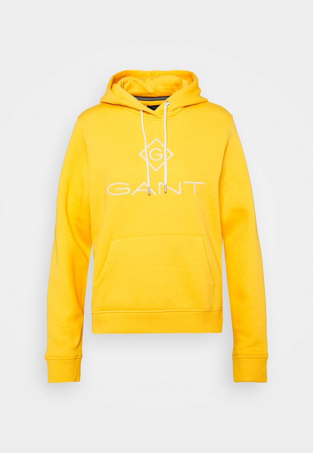 LOCK UP HOODIE - Mikina s kapucí - solar power yellow