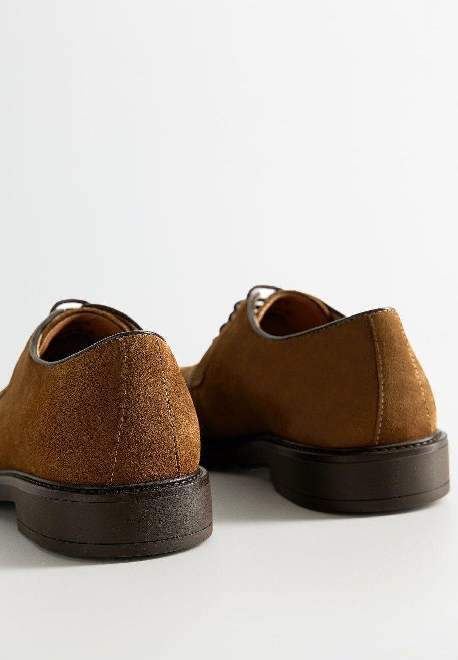 Mango LEOLIGHT - Casual snøresko - brown