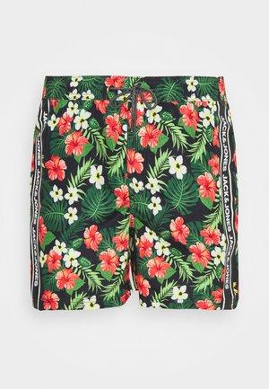 JJIBALI TAPE - Swimming shorts - black