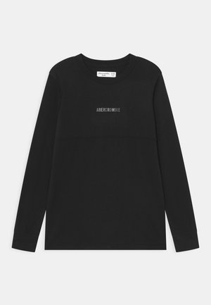 NOVELTY - Long sleeved top - black solid