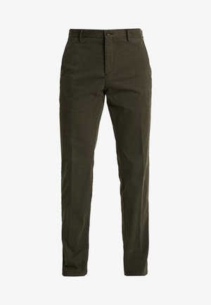 STRETCH PANTS - Chinos - green