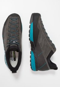 Scarpa - MESCALITO GTX - Hiking shoes - shark/lakeblue - 1
