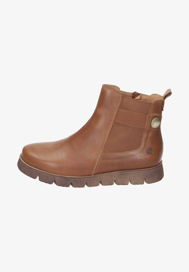 Ankle boots - haselnuss