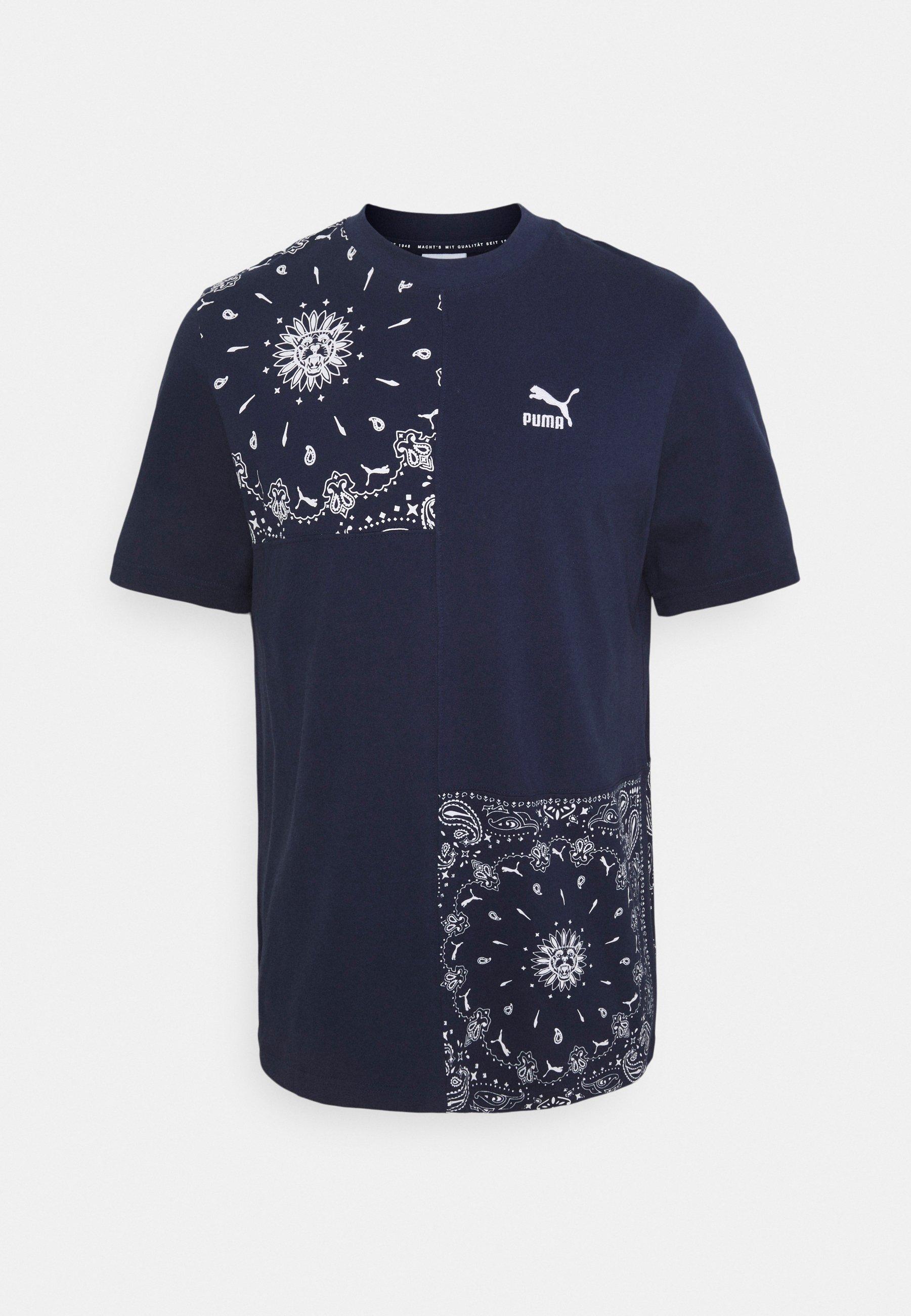 Men PATCHWORK TEE - Print T-shirt