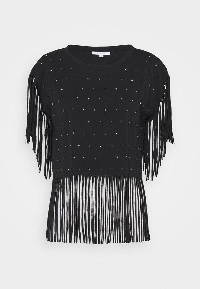 MAGLIA - T-shirt imprimé - nero