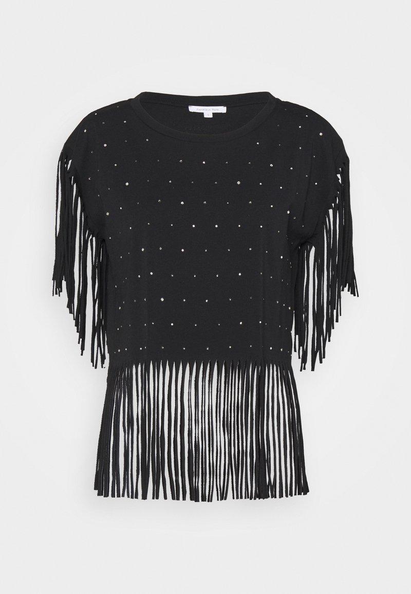 Patrizia Pepe - MAGLIA - T-shirt print - nero