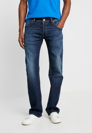 RODEN - Bootcut jeans - dark-blue denim