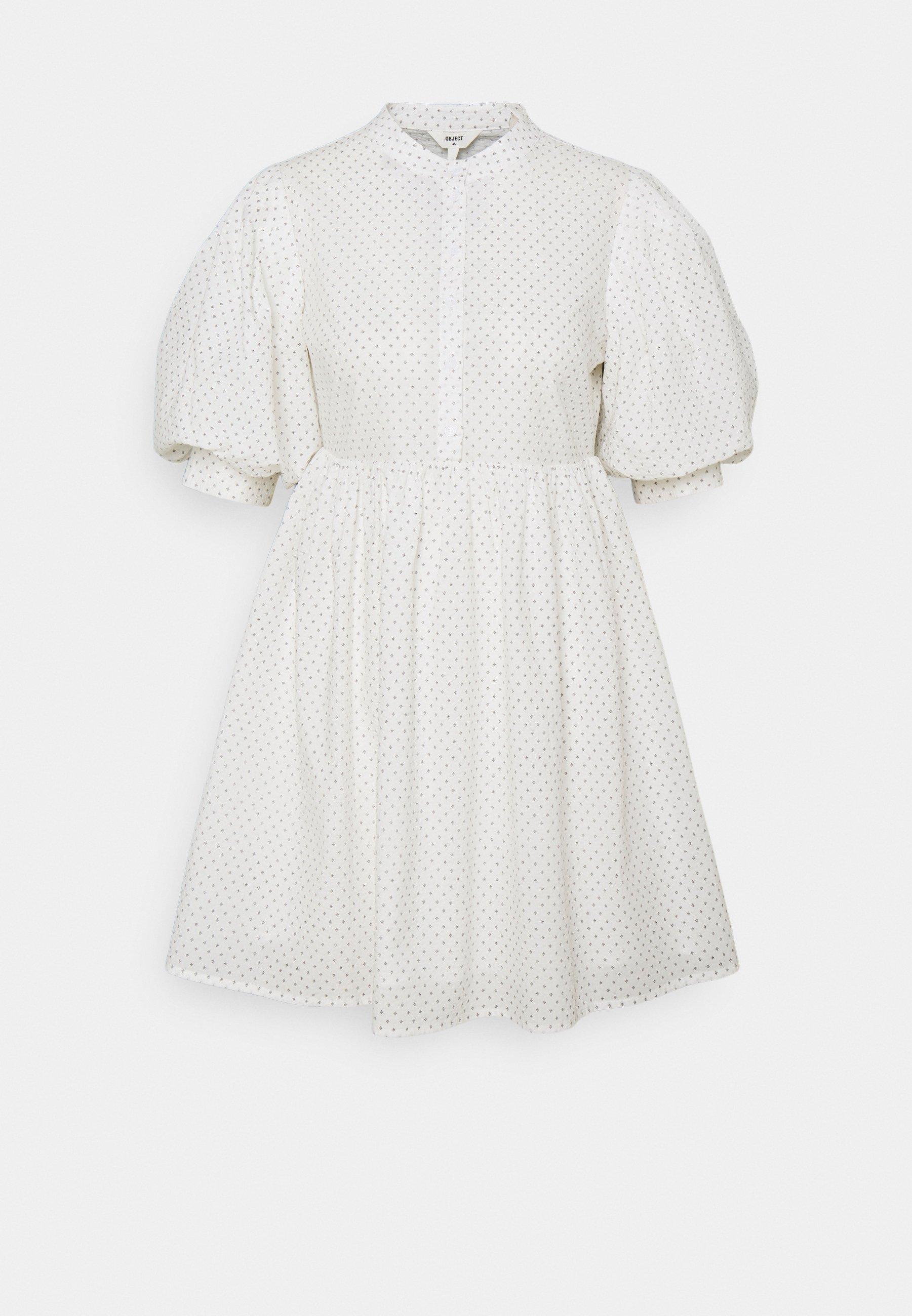 Women OBJLOUISE DRESS A FAIR - Day dress