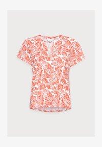 GESINA - Print T-shirt - ginger