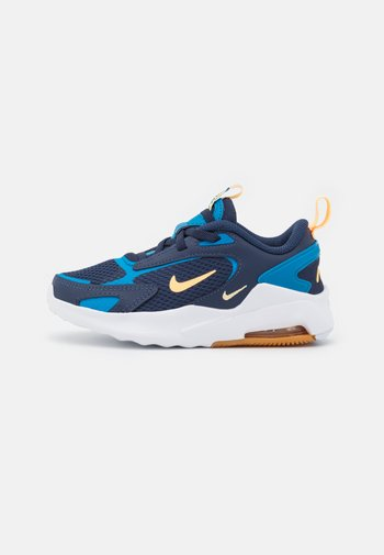 AIR MAX BOLT UNISEX - Sneakers basse - midnight navy/melon tint/imperial blue/lightt brown