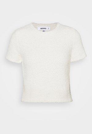POPCORN - Basic T-shirt - cream