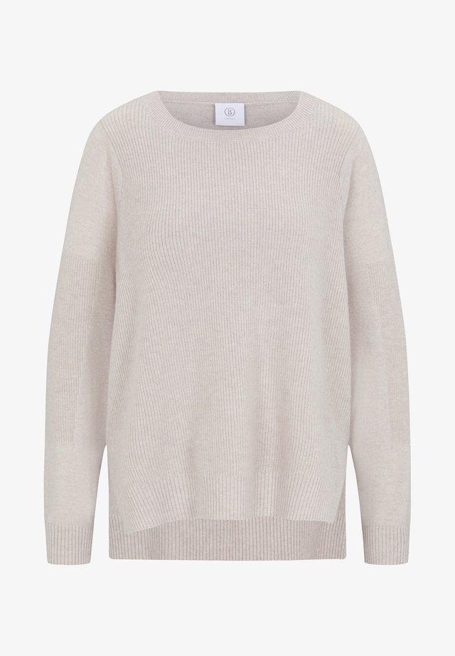 MARJAM - Pullover - sand