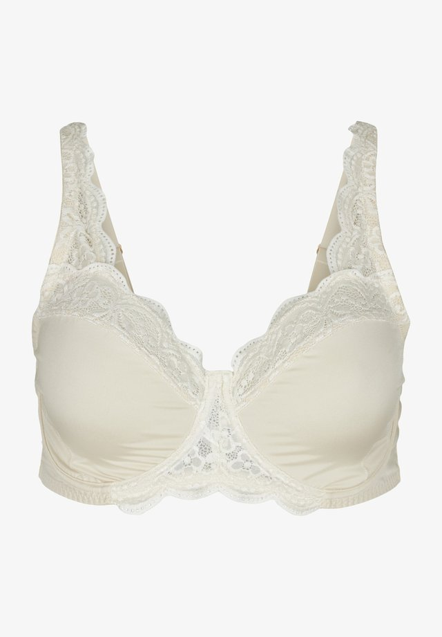 FREJA - Kaarituelliset rintaliivit - beige