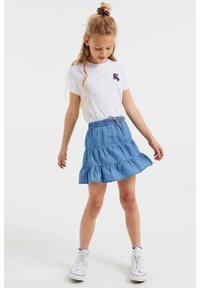 WE Fashion - A-lijn rok - light blue - 0